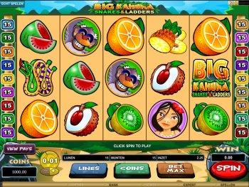 Big Kahuna Snakes & Ladders slots - Spela det gratis nu