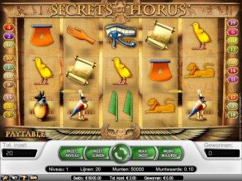 horus secrets