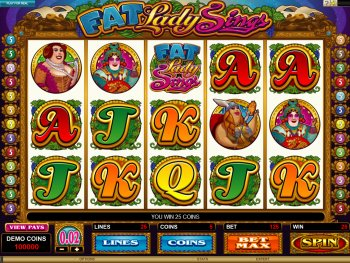 Fat Lady Sings slot - spil online slot gratis