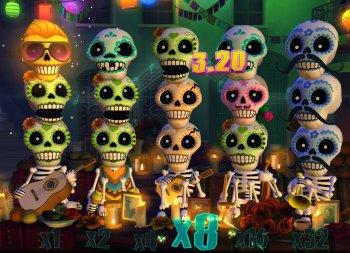 Video Slot Esqueleto Explosivo