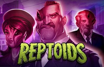 Reptoids video slot Yggdrasil