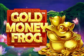 gold money frog