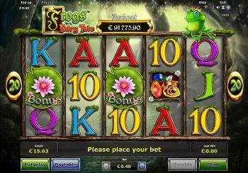 Frog's Fairy Tale - Casumo Casino