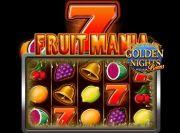 Fruitmania Golden Nights Bonus