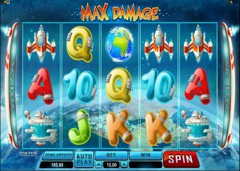 Max Damage slot - spil online video slots gratis