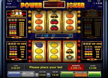 play power joker free slot