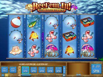Gokkast met vissen gokken op gokkasten online for Reel em in fishing slot machine