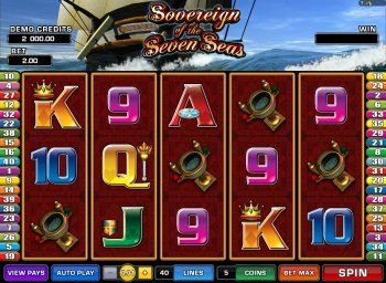 Sovereign of the Seven Seas Slot Machine Online ᐈ Microgaming™ Casino Slots