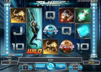 Thief - adrenalinpakket gratis online Slot